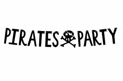 Guirlande Pirates Party