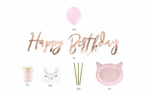 Kit anniversaire - Chat