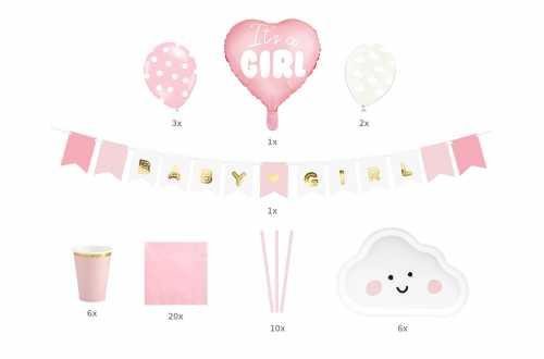 Kit baby shower fille – It's a GIRL