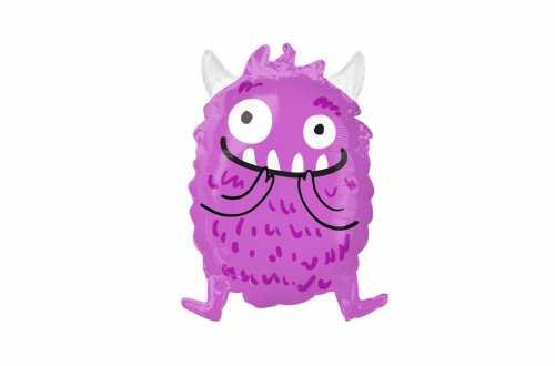 Ballon joyeux monstre violet– 48 cm