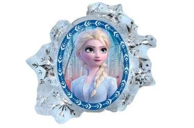 Grand ballon Elsa et Anna - Flocon de neige - Reine des neiges 2 - 76 cm