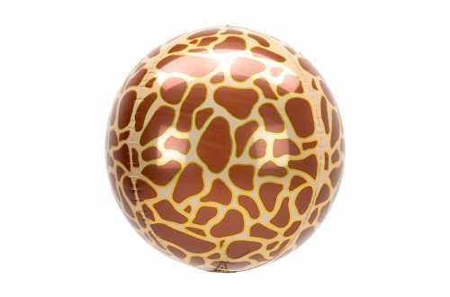 Grand Ballon aluminium Girafe - 38 cm