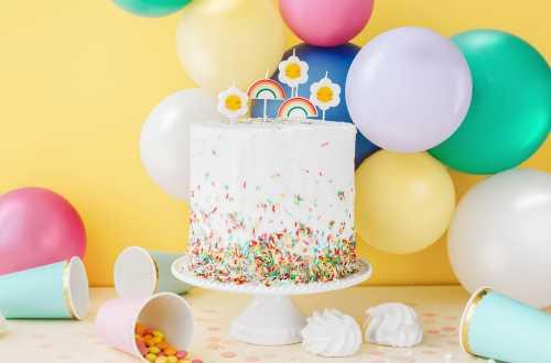10 Ballons de baudruche - blanc pur pastel