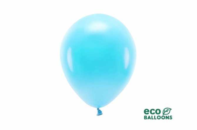 10 Ballons de baudruche Écologique - bleu clair pastel