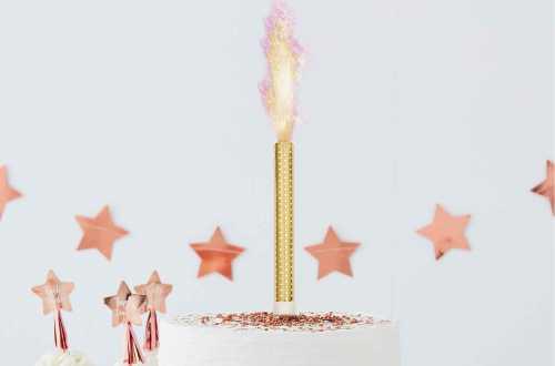 3 Fontaines à gâteau pour révélation de sexe – Flamme rose