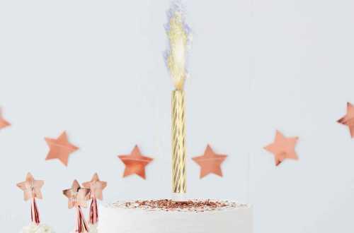 3 Fontaines à gâteau pour révélation de sexe – Flamme bleue