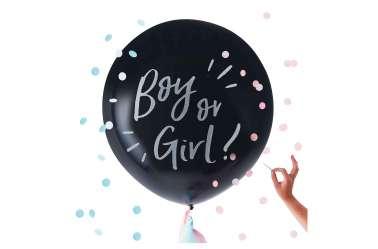 Ballon Boy or girl ? (fille ou garçon ?) géant de révélation de sexe
