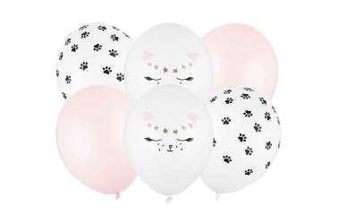 Assortiment de 6 ballons – Chat