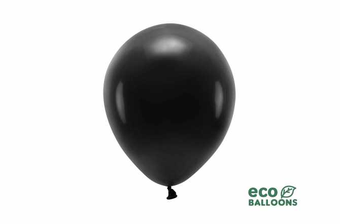 10 Ballons de baudruche - noir