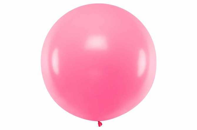 Grand ballon rose