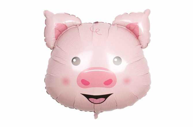 Ballon tête de cochon - 76 cm