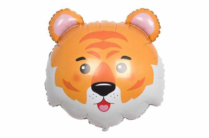 Ballon tête de tigre - 71 cm