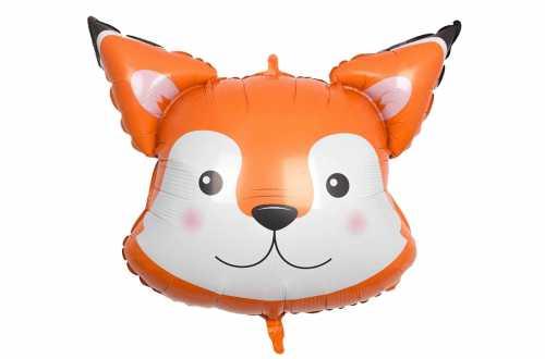 Ballon tête de renard - 76 cm