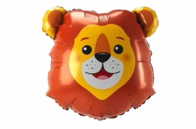 Ballon tête de lion - 84 cm