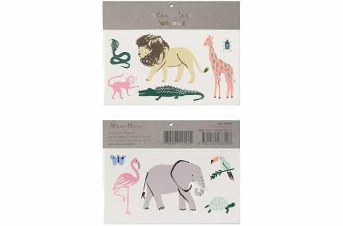 Tatouage animaux safari