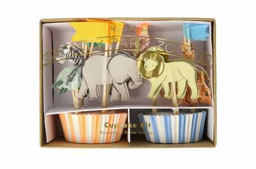 Caissette animaux safari