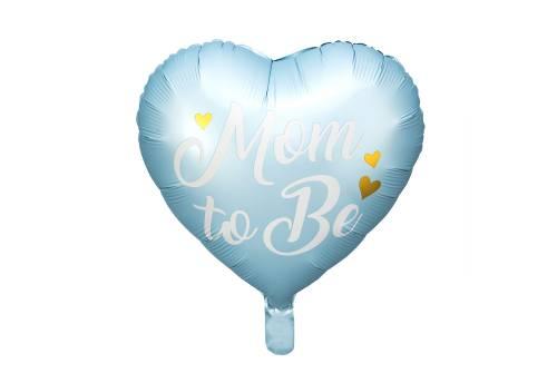 copy of Ballon aluminium Mom to Be bleu - 35 cm