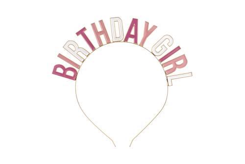 Bandeau anniversaire fille - Birthday Girl