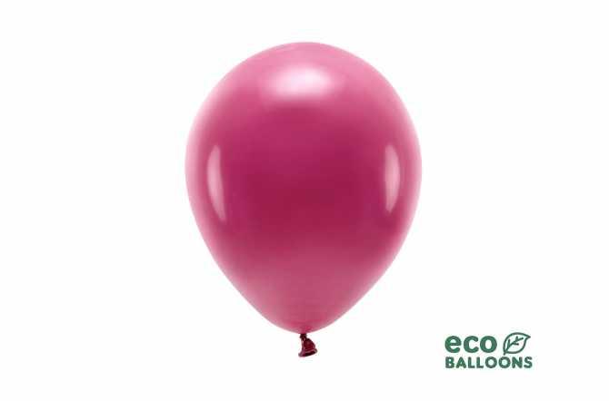 Ballons rose grenat pastel