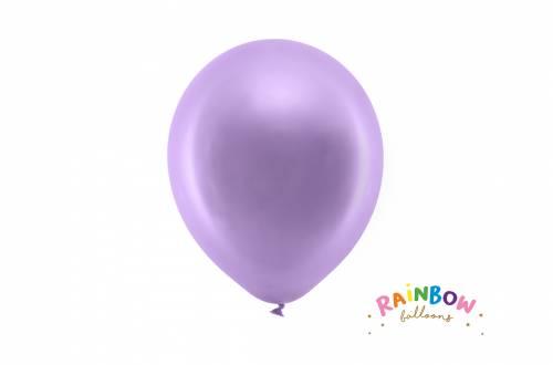 Ballon violet métallique