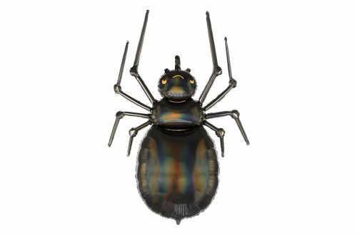 Ballon araignée noir