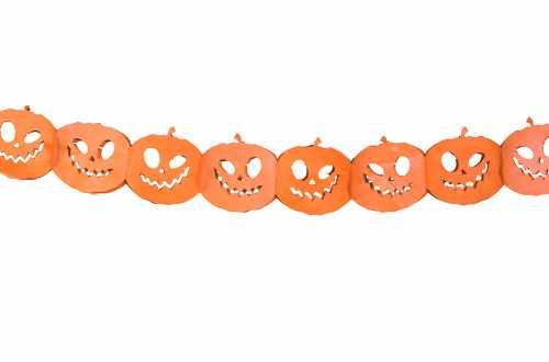 Guirlande Citrouilles Halloween