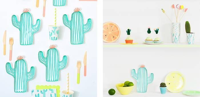 Anniversaire Cactus