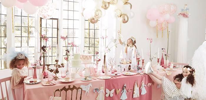 Une décoration d'anniversaire magique pour un anniversaire princesse