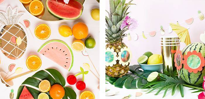 idees Anniversaire fruits