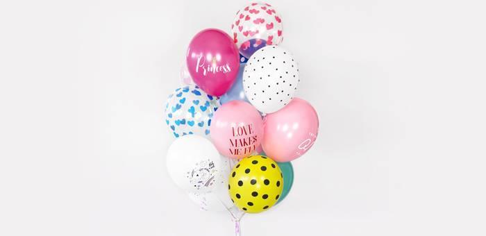 Une sélection de ballons de baudruche imprimés pour toutes vos fêtes !
