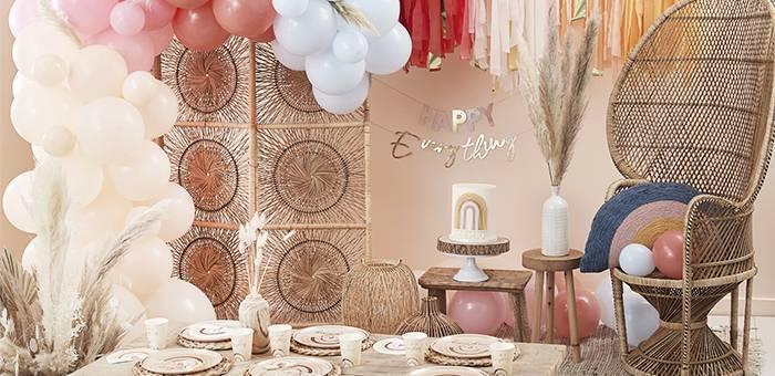 Anniversaire Happy Everything - Déco de fête et anniversaire