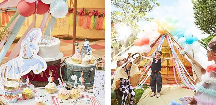 Anniversaire cirque : La décoration enfant originale du thème cirque