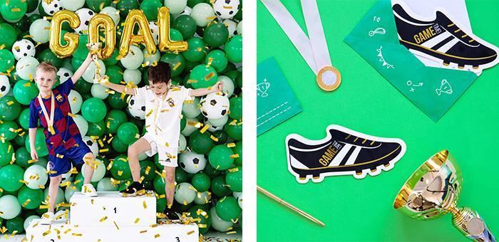 Anniversaire foot : toute la décoration sur le thème football