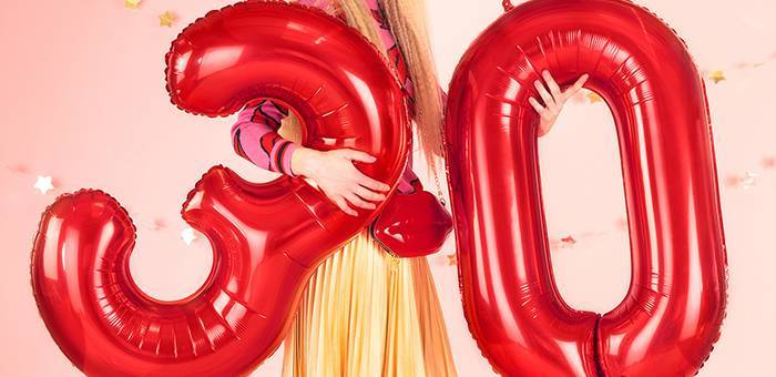 Les ballons chiffres : des essentiels pour toute décoration d'anniversaire