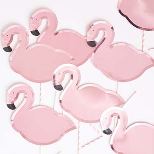 Sub-category: Anniversaire Flamants roses